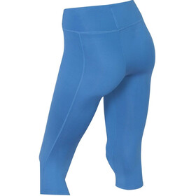 2XU Mid-Rise Compression 3/4 Tights Women Pacific Blue/Silver logo